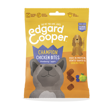 Edgard Cooper Champion chicken bites for Dogs