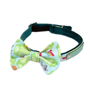 Emerald City Cat Bow Tie