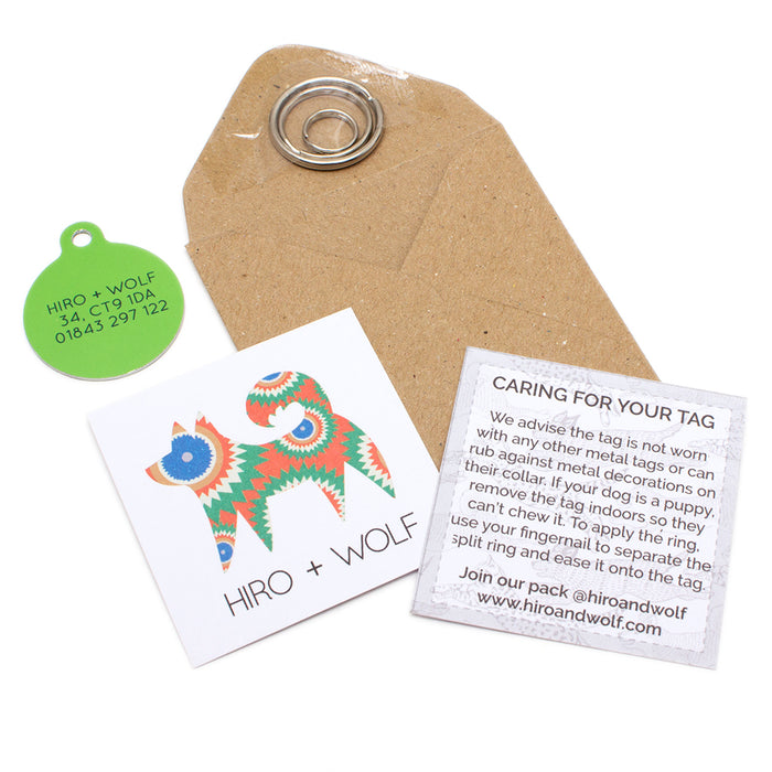 'Eyes' Pet Tag