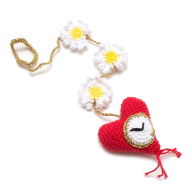 Heart Pocket Watch Catnip Cat Toy
