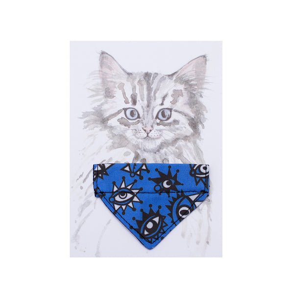 Artisans & Adventurers X Hiro + Wolf Cat Bandana 'Eyes'