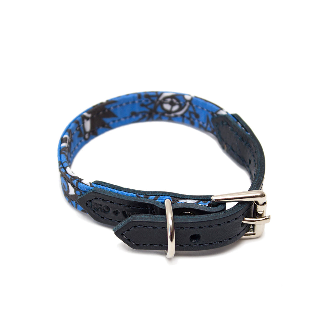 Artisans & Adventurers X Hiro + Wolf Dog Collar 'Eyes'