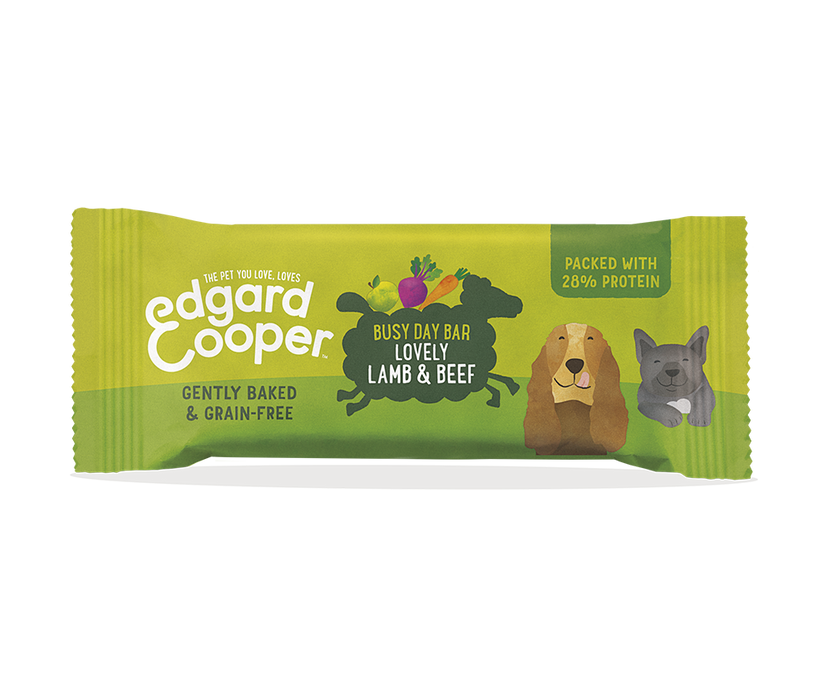Edgard Cooper Lamb and Beef Snack Bar for Dogs