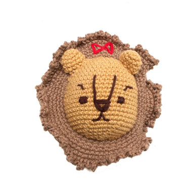 Cowardly Lion Squeaky Dog Toy