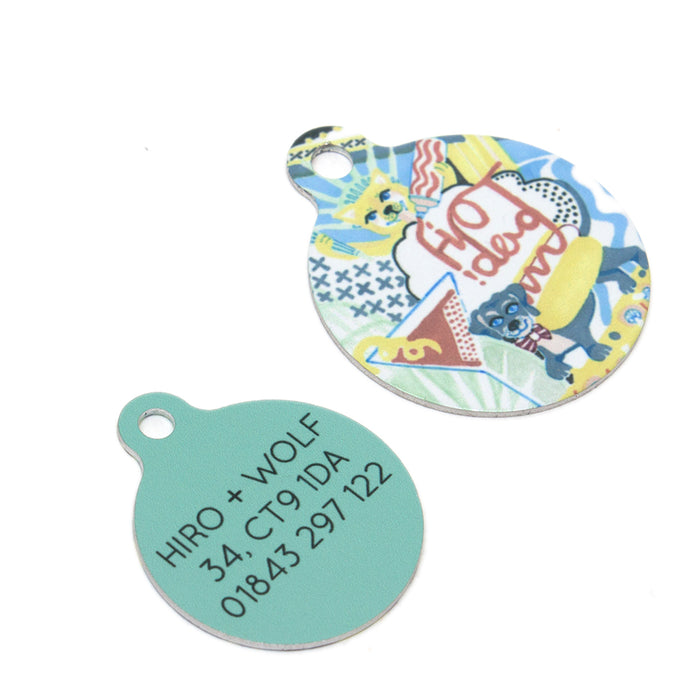 'New York! New York!' Pet Tag