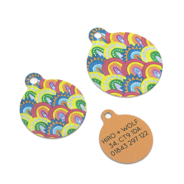 'Over the Rainbow' Pet Tag