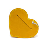 Heart Poo Pouch Acacia Yellow