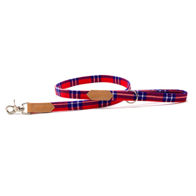 Shuka Red Classic Dog Lead