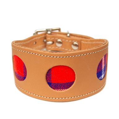 Shuka Red Hound Collar