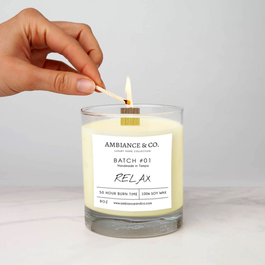 Relax Smoke Odor Eliminator Candle
