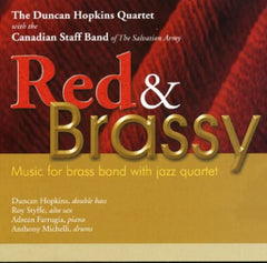 Duncan Hopkins Quartet - Red & Brassy