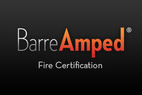 BarreAmped Fire Certification