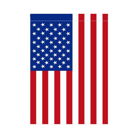 Double Applique American Flag (Large or Garden Size)