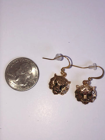 Isabella Gold Tiger Earrings