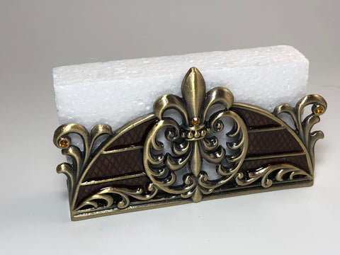 Welforth Fleur-de-Lis Business Card Holder