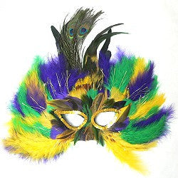 Mardi Gras Royal Mask