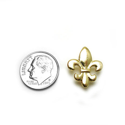 Fleur-de-Lis Lapel Pin (Available in Gold or Silver)