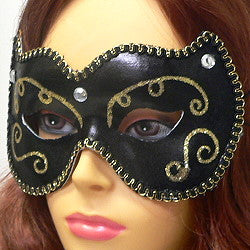 Ladies Fancy Mardi Gras Mask