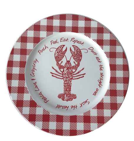 Crawfish Tin Plate