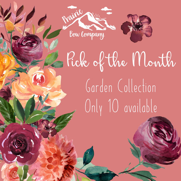 PRAIRIE PICK OF THE MONTH - GARDEN COLLECTION