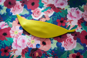 Yellow Elm Leaf Easter Clip