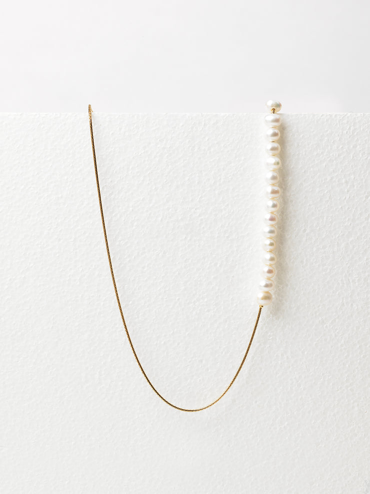 Frame Chain / Pearly Queen Half and Half / Yellow Gold - I Visionari
