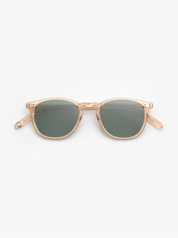 Garrett Leight / Kinney / Pink Crystal With Semi Flat Pure G15 - I Visionari