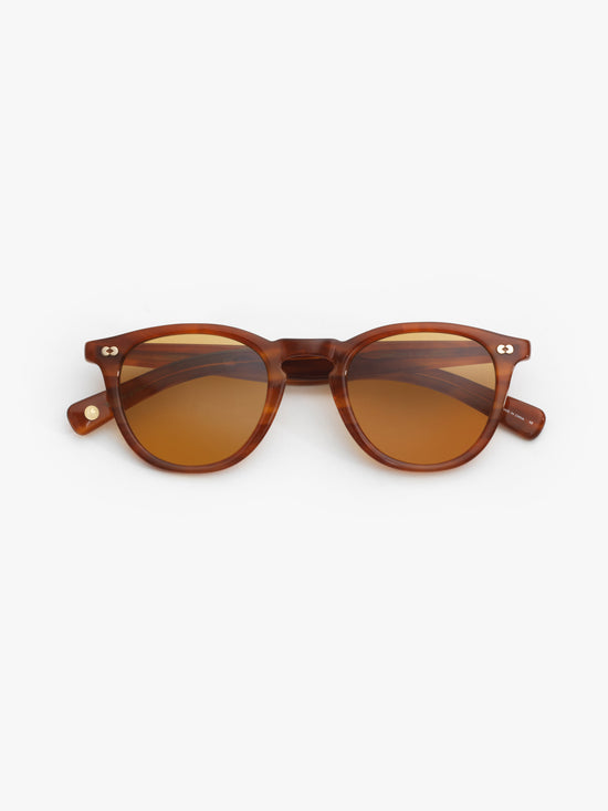 Garrett Leight / Hampton X / Honey Amber Tortoise