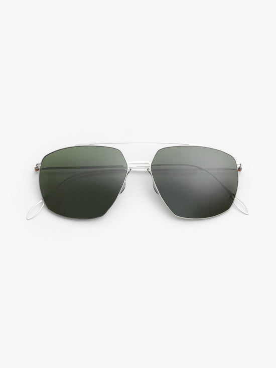 Haffmans & Neumeister / Noah / Silver with Green Polarized