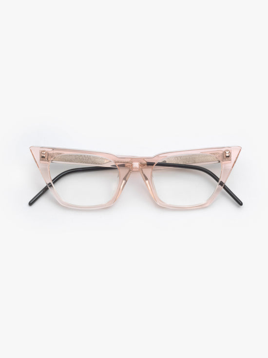 SO.YA / Ivy / Pink Transparent - I Visionari