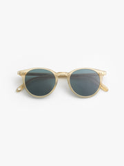 Garrett Leight / Clune / Blonde With Semi Flat Blue Smoke - I Visionari