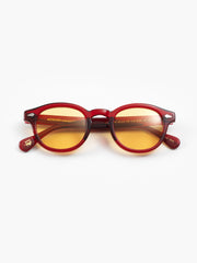 Moscot / Lemtosh / Ruby with Woodstock Orange Tint - I Visionari