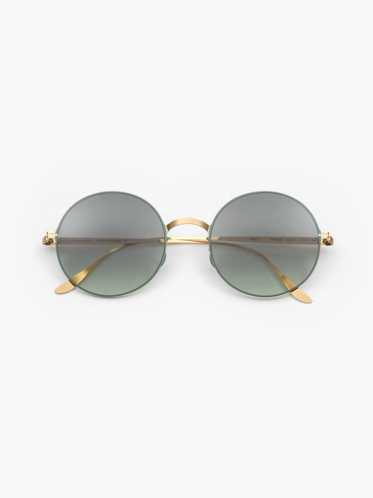 Haffmans & Neumeister / Mustique / Gold and Sage Green - I Visionari