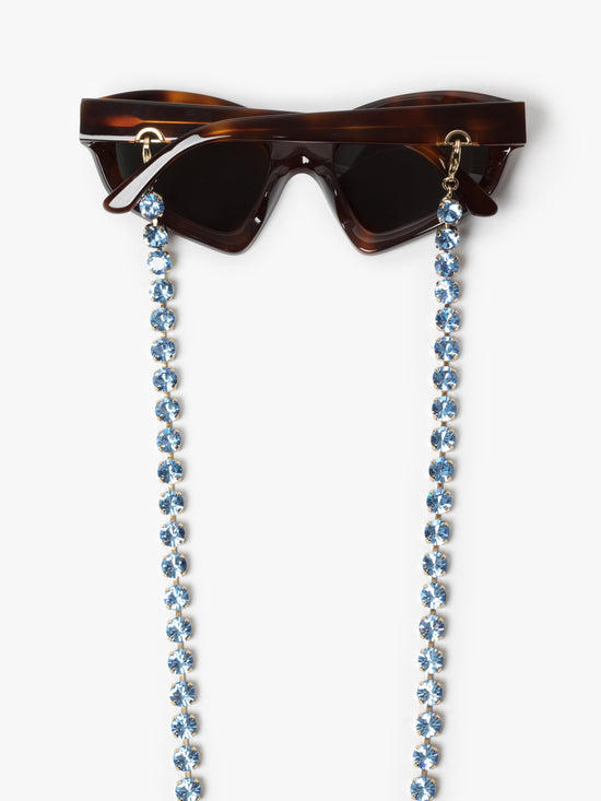 Huma / Swarovski Chain / Light Blue - I Visionari