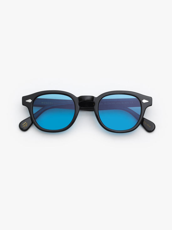 Moscot / Lemtosh / Black With Celebrity Blue - I Visionari