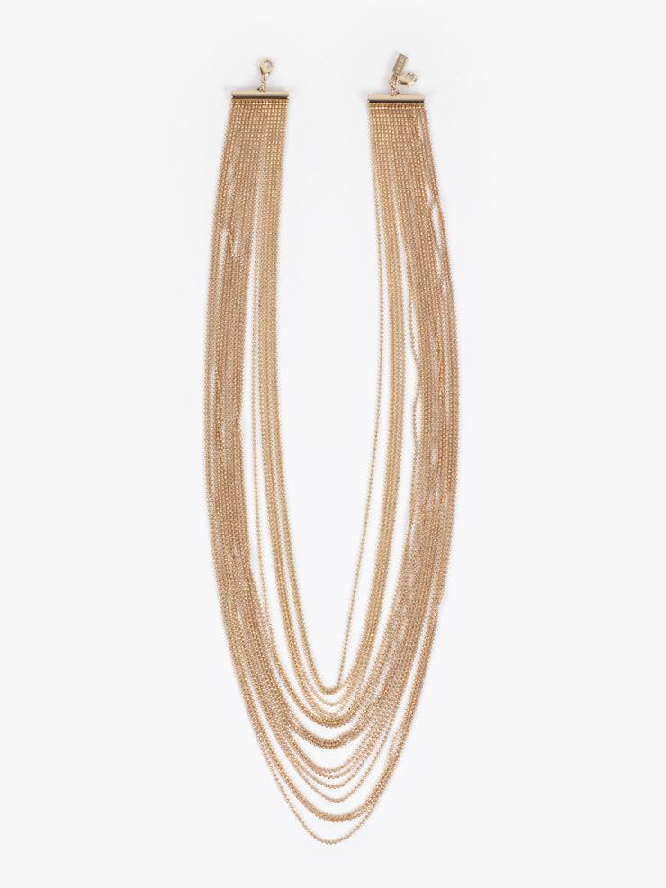 Huma / Multi Wires Gold Chain - I Visionari