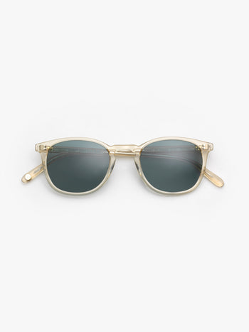 Garrett Leight / Kinney / Champagne With Blue Smoke Polar - I Visionari