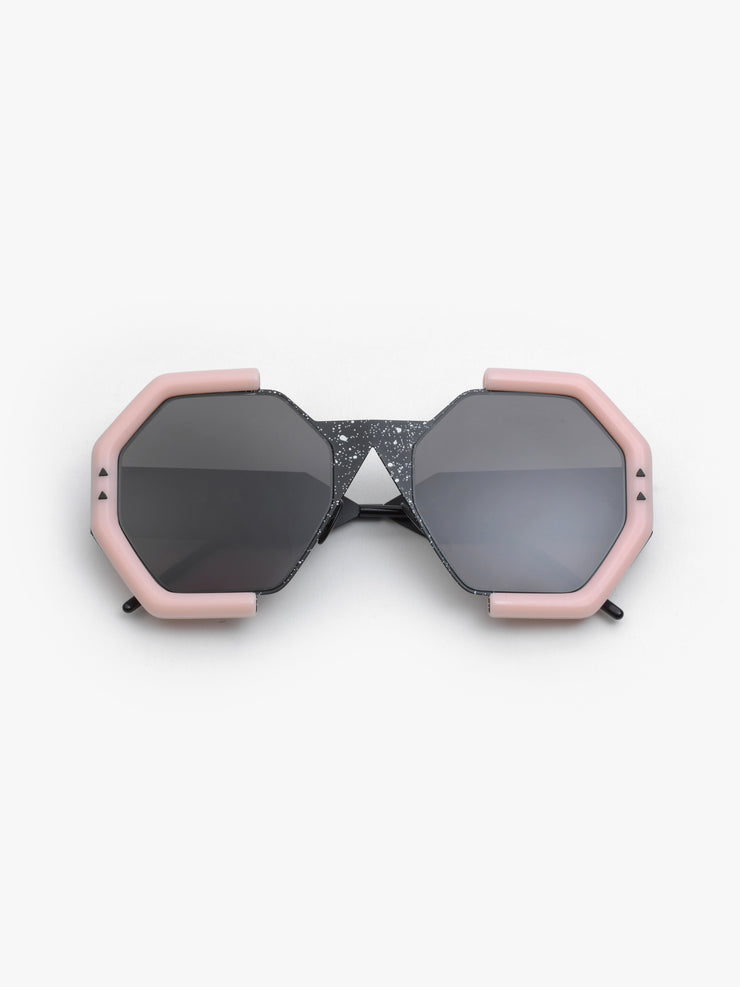 SO.YA / Mam / Matte Black White Drop Matte Pink - I Visionari