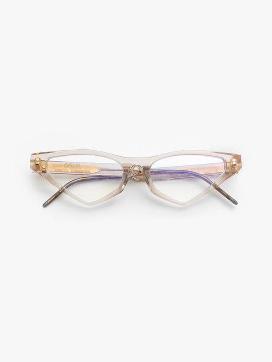 SO.YA / Ann / Beige Transparent - I Visionari