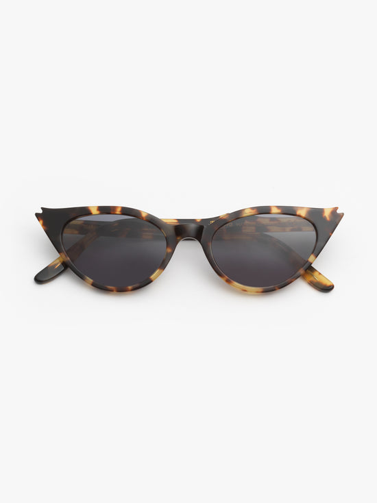 Illesteva / Isabella / Tortoise with Grey Flat Lenses