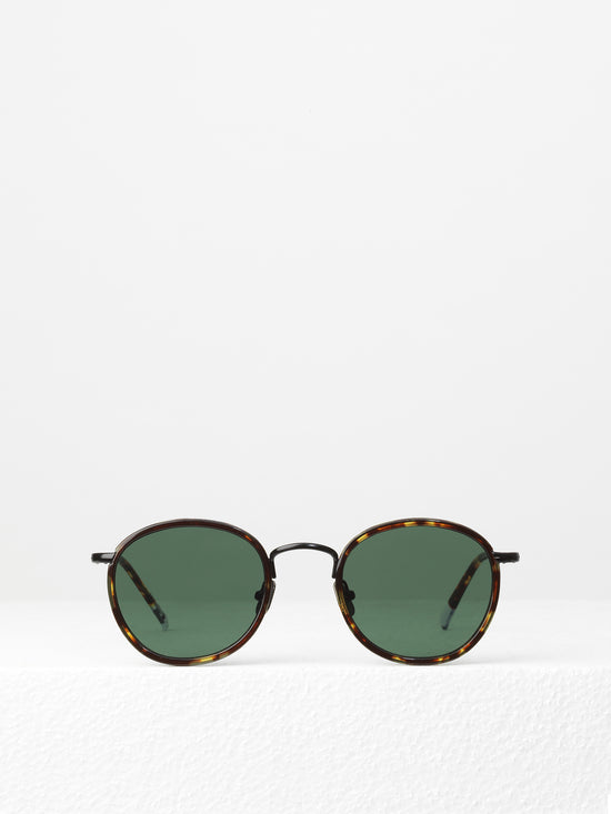 Waiting for the Sun / Jackie / Matte Black Tortoise with Green