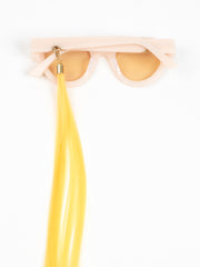 Huma / Earring Straight Hair / Yellow - I Visionari
