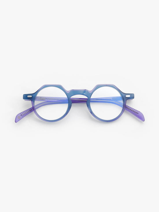 Lesca Lunetier / Yoga / Powder Blue Purple - I Visionari
