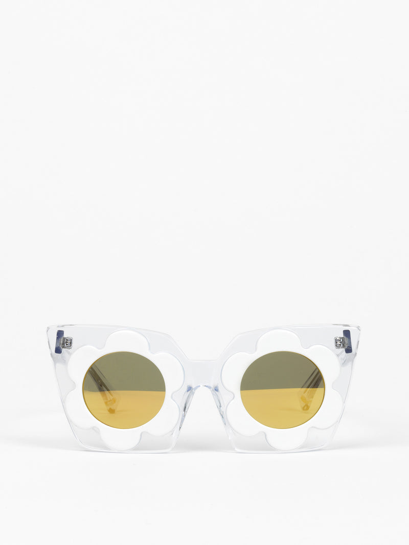 Markus Lupfer by Linda Farrow / Daisy / Clear + White - I Visionari