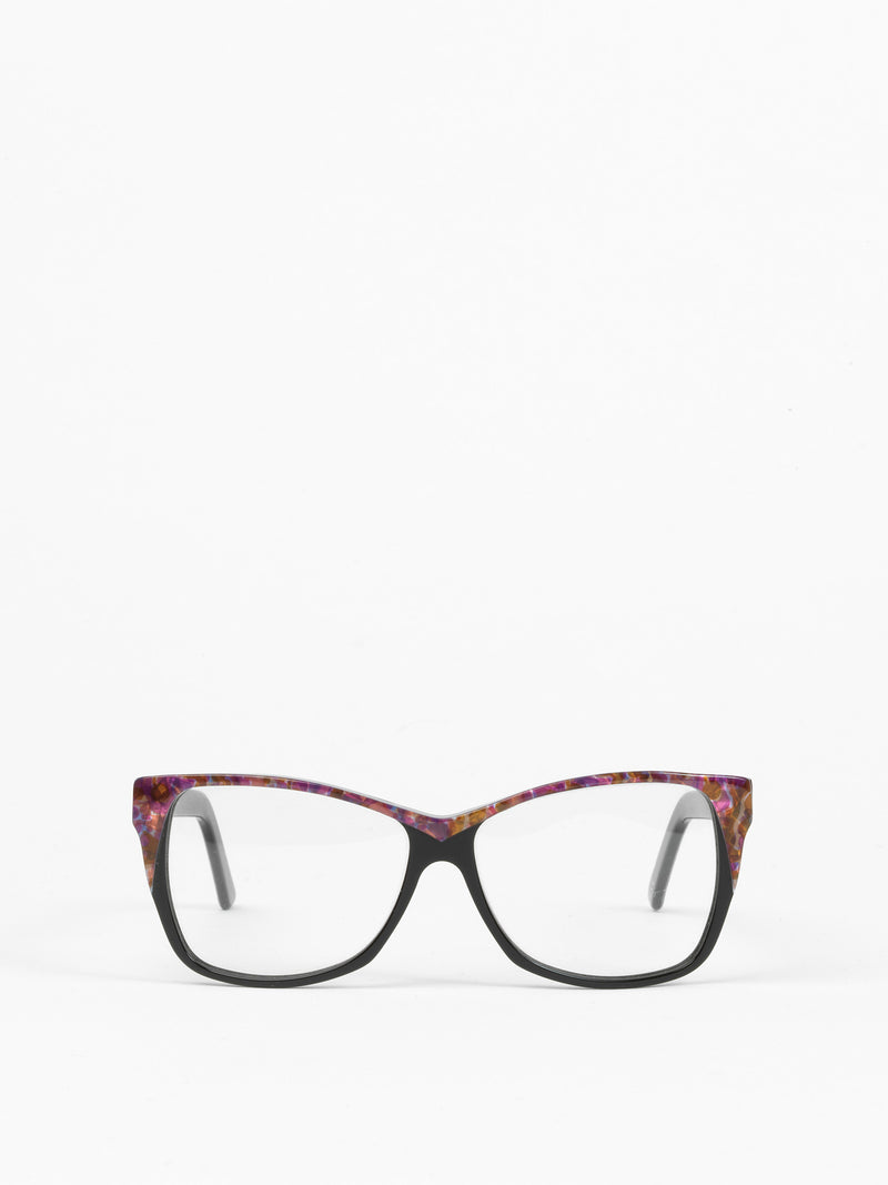 Andy Wolf / 5012 / Black + Fuchsia Mother of Pearl - I Visionari