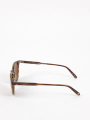 Garrett Leight / Milwood / Brandy Tortoise With Brown Polarized Glass - I Visionari