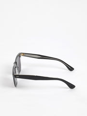 Garrett Leight / Wavecrest / Black Laminate Crystal With Semi Flat Black Polar - I Visionari