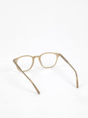 Garrett Leight / Clark / Matte Bottle Glass Brown - I Visionari