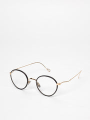 Gouverneur Audigier / Corium Pantos / Champagne Gold Leather Perforated Black - I Visionari