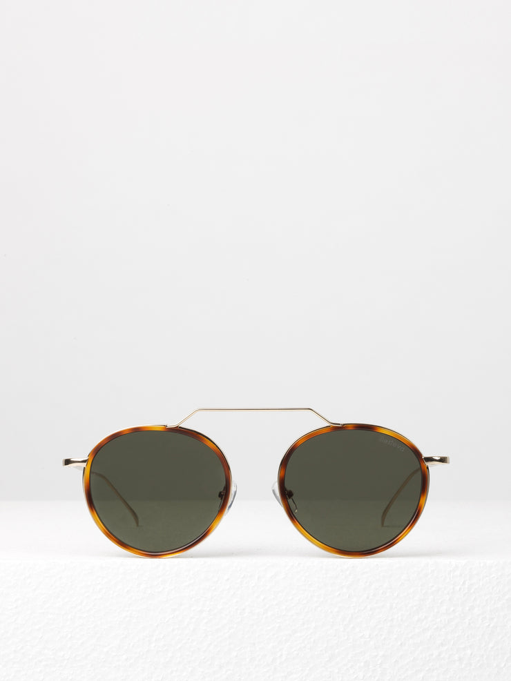 Illesteva / Wynwood Ace / Havana Gold With Grey Flat Lenses - I Visionari